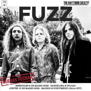 fuzz tour spain